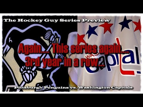 Round Two Playoff Preview of Capitals vs Penguins