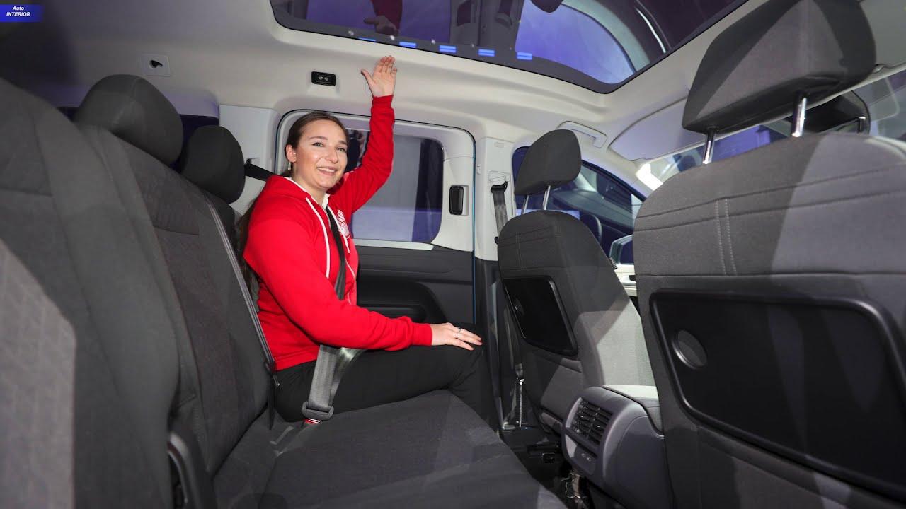 2021 Volkswagen Caddy Interior Youtube