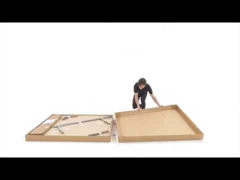 download Notice de montage de la table artengo FT 720 indoor et outdoor