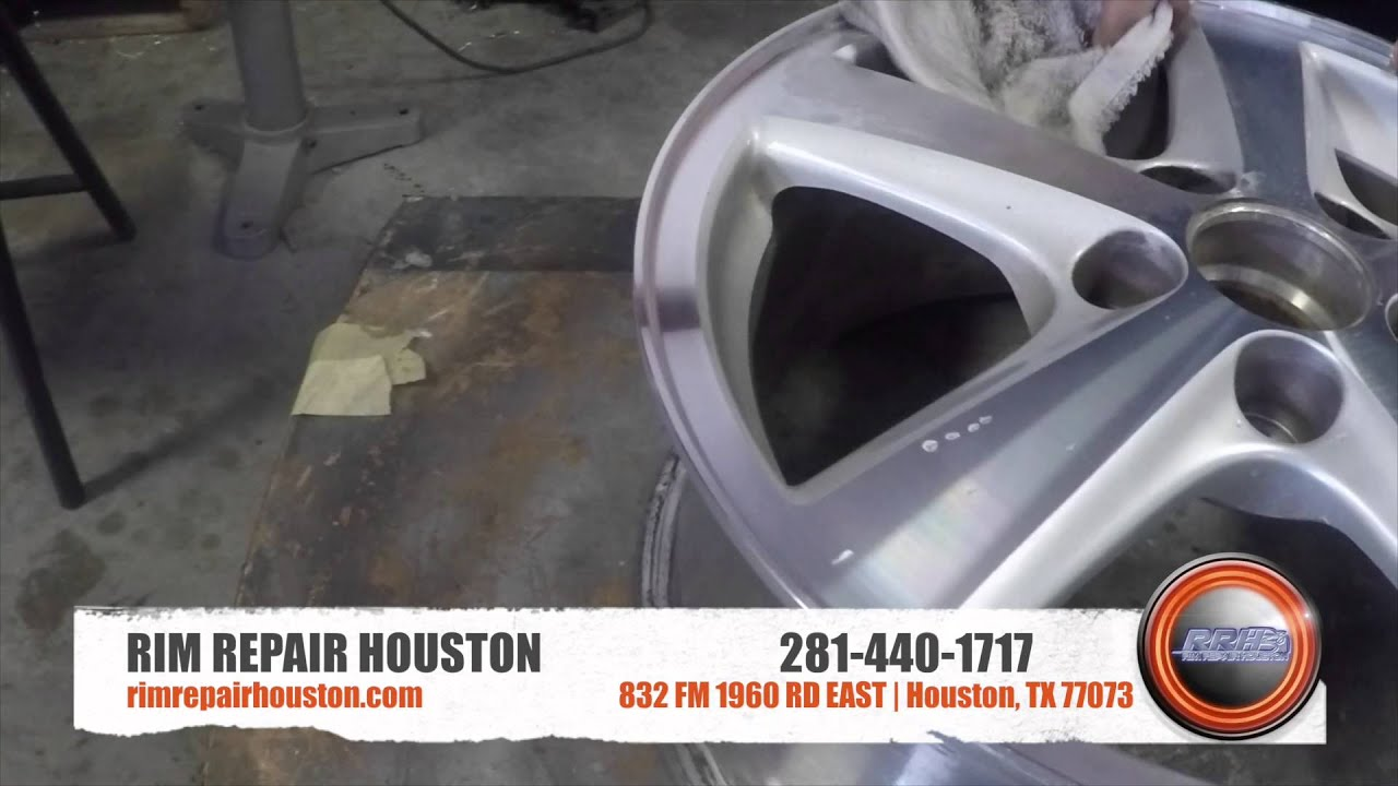 Rim Repair Houston Cnc Youtube