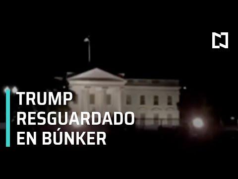 Trump fue resguardado