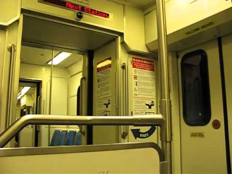 Riding VTA light rail from Convention Center to San Jose Diridon