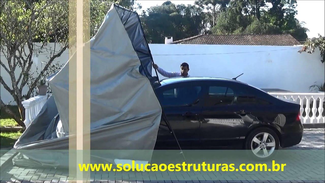 Garagem Retratil Carros E Motos Youtube