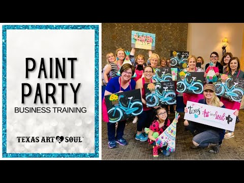 3 Big Things YOU ned to know before Teaching Paint Parties!
