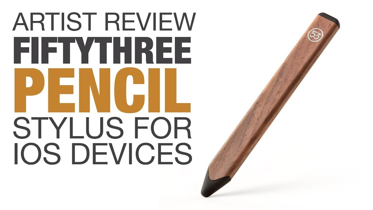 Artist review fiftythree pencil stylus for ipad and iphone