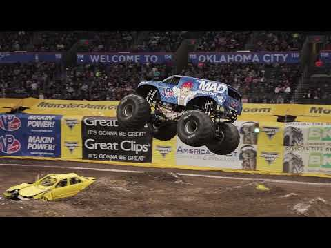 Monster Jam Oklahoma City Highlights - Stadium Championship Series 4 - Feb 17-18, 2018
