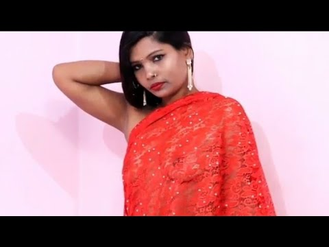 Download how to wear Ultra Low Waist Saree Without Blouse ( following my channel for more video)