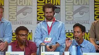SDCC10: Community Panel, Donald Glover and Danny Pudi Love