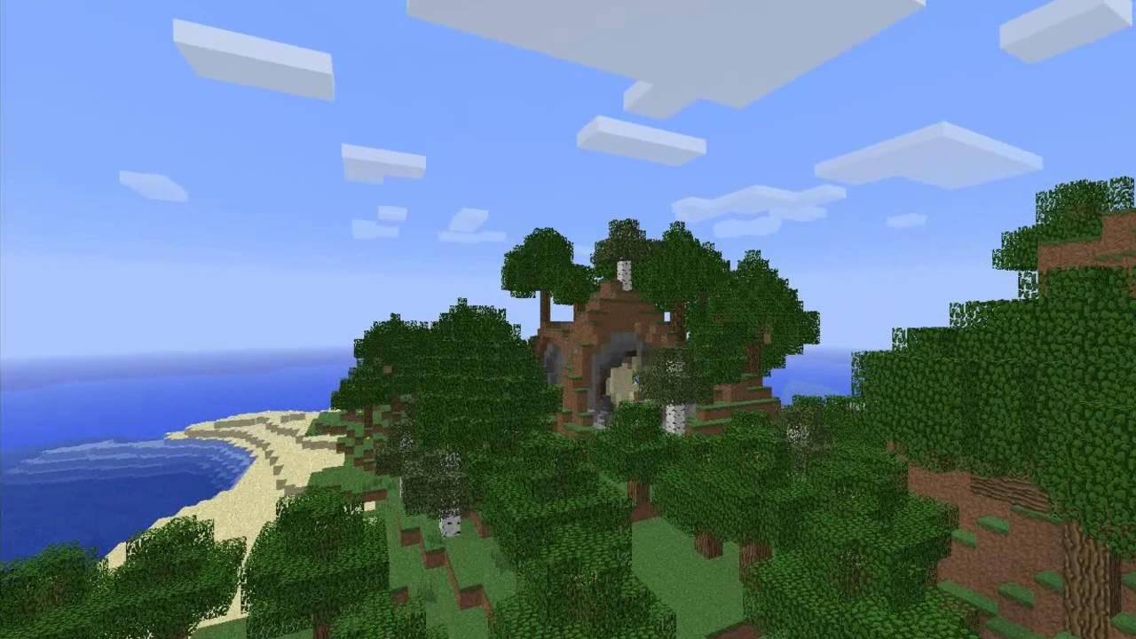 скачать карты необетаемый остров на майнкрафт #4