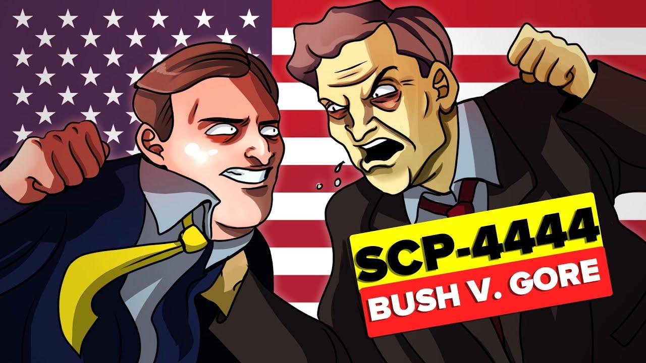 DR. BRIGHT FOR PRESIDENT SCP-4444 - Bush v. Gore (SCP Animation)