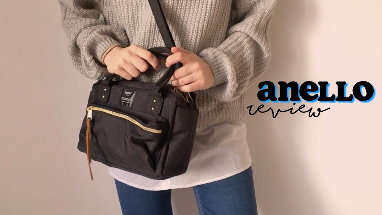 5b0daacc8a anello shoulder bag review | anellodirect - YouTube