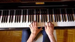 Robert Schumann kleine Studie, little study, op. 68/14 tutorial