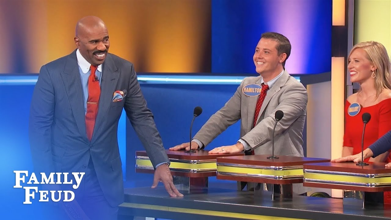 Okay... bring on the BOOTY | Family Feud