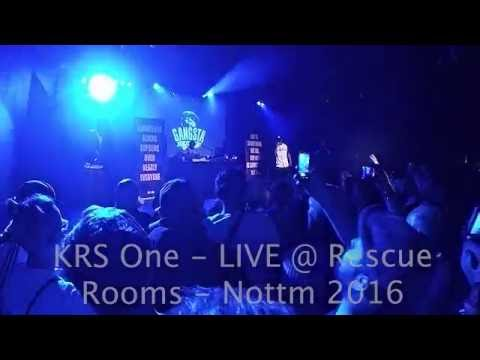 KRS One LIVE in Nottingham Full Concert 4th July 2016
