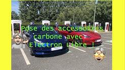 Montage accessoires carbone avec Electron Libre !