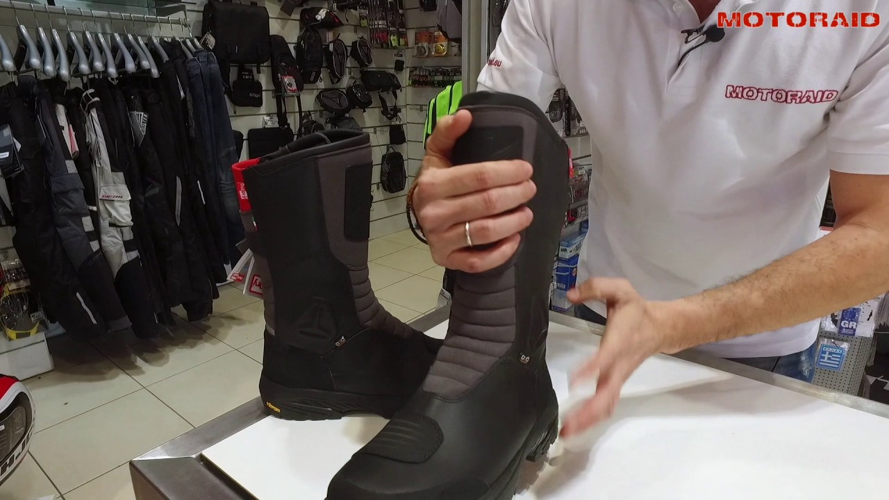 Falco Tourance OutDRY boots review by MotoRAID (Greek)