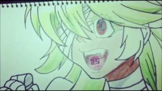 Speed drawing NIKO NO  25 in Nanbaka