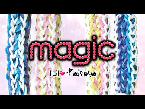 New Magic Rainbow Loom Celet Tutorial