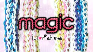 NEW Magic Rainbow Loom Bracelet Tutorial | How To Thumbnail