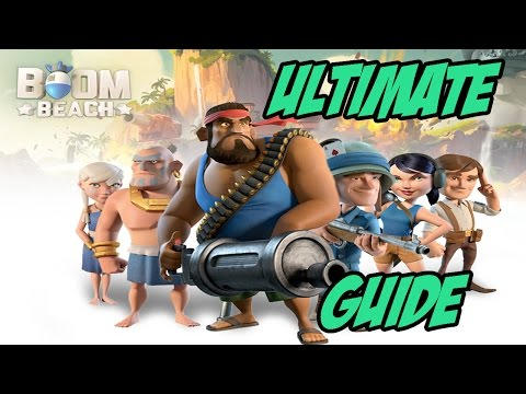 Boom Beach Ultimate Tip and Guide To Be A Better Boomer!
