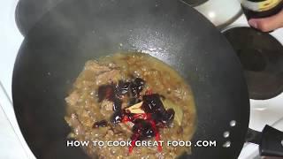 Stir Fried Lamb & Broccoli Recipe - Asian Wok Stirfry