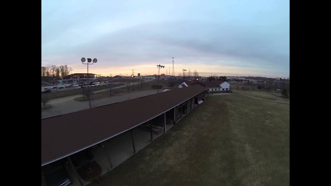 BlackOut Mini H quad test flight @ FliteTest HQ - YouTube