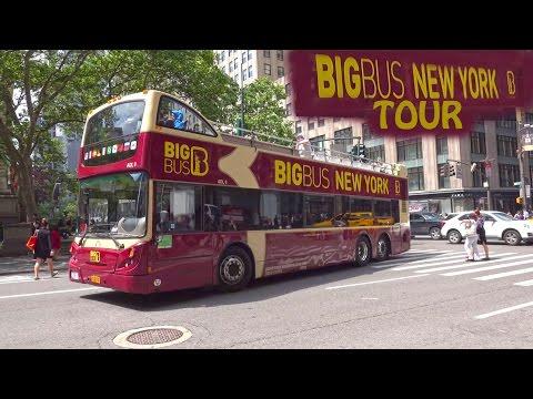 New York Big Bus Tour - Night & Day 4K