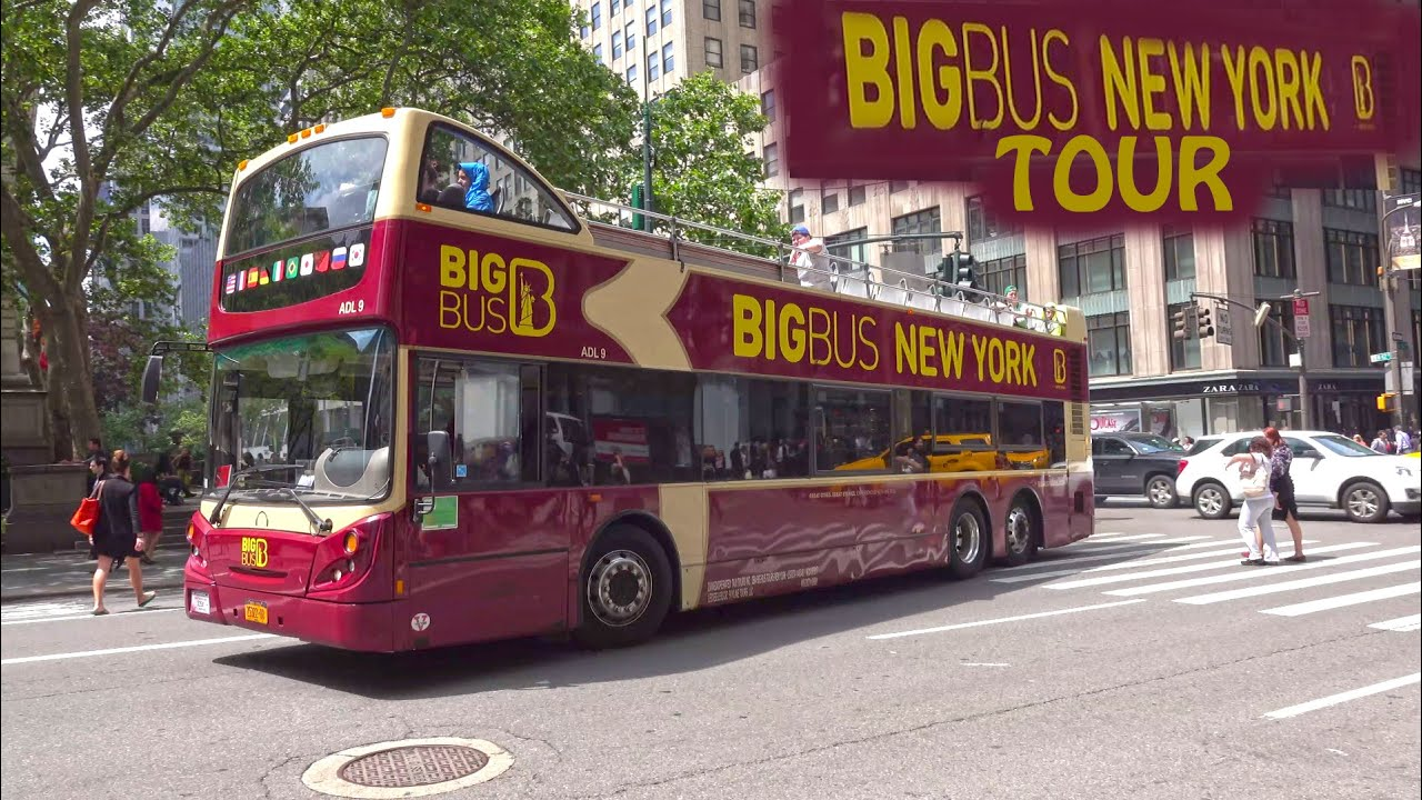 Big Bus Paris Map, New York Big Bus Tour Night Day 4k, Big Bus Paris Map