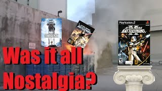 Were the Original Star Wars Battlefront Games as Good as we Remembered???