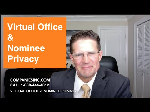 Virtual Office & Nominee Privacy