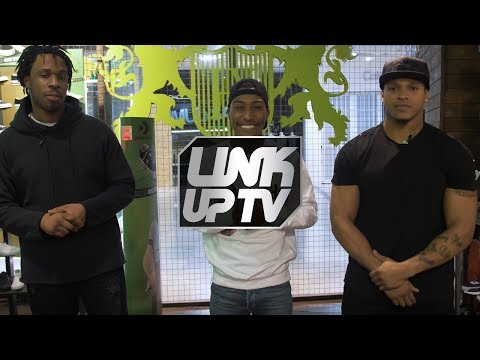 Avelino & Anthony Yarde talk FIFA, fashion and knockouts with Yung Filly | Footasylum x Link Up TV
