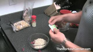 Lazy 5 Minute Breakfast for Muscle Building