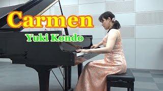 ビゼー:「カルメン」より 間奏曲  ピアニスト 近藤由貴/Bizet: 「Carmen」Entr'acte Piano Solo, Yuki Kondo thumbnail