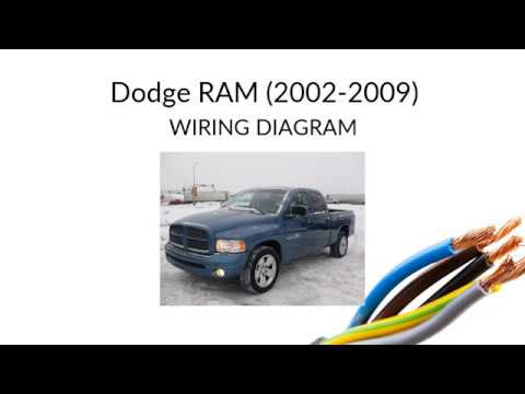 Wiring Diagram For Dodge Ram 2009 2018 Youtube