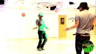 "RDI DANCE CLASS...(#33) RAJESH SOLO DEMO FOR 2 NEW SONGS ""CRAZY LOVER"" & ""GOOD BOY"""