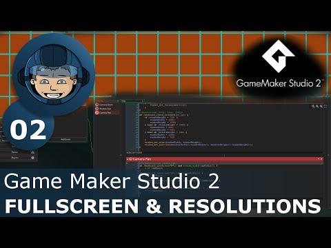 Game Maker Fullscreen