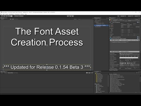 TextMesh Pro - Font Asset Creation