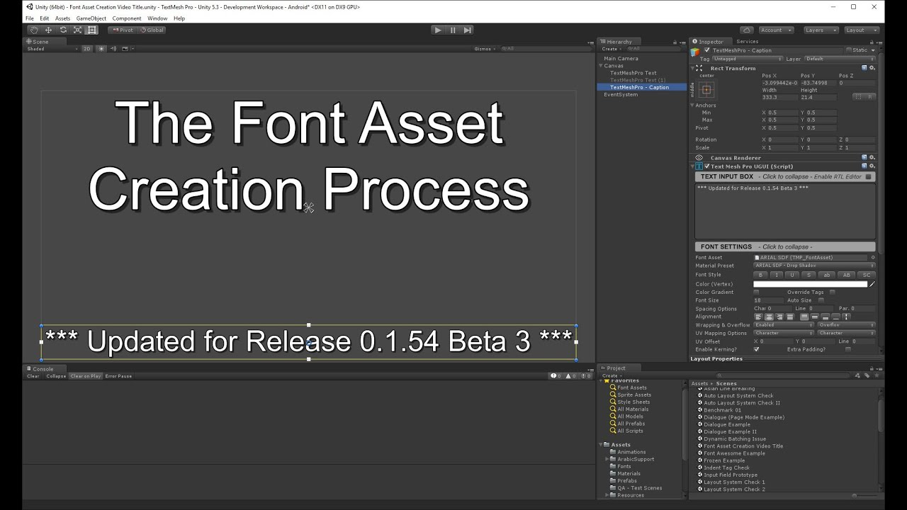 TextMesh Pro - TMP and custom font - Unity Forum