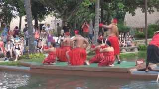 Canoe Pageant at the Polynesian Cultural Center