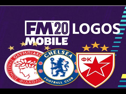 FMM20 - HOW TO GET OFFICIAL LOGOS   Android/iOS (Football Manager Mobile 2020)
