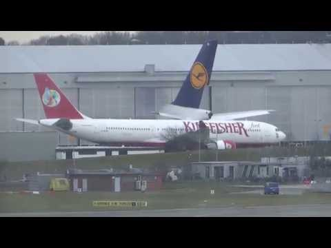Kingsfisher Airbus A330 D-ALAB parking in Hamburg