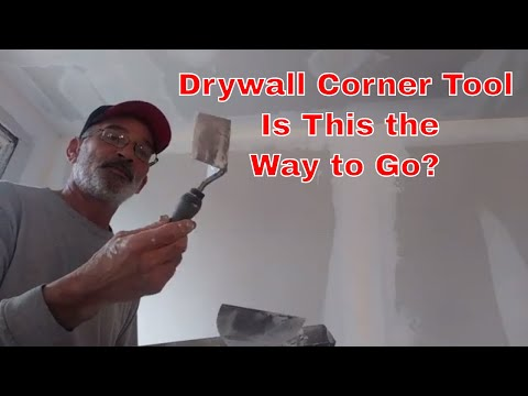 Diy Drywall - How to use a drywall corner finishing tool