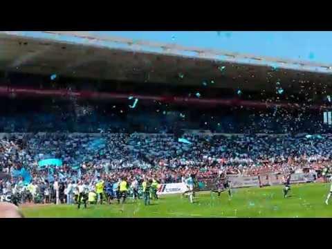 Chant supporters Bayonne (Aviron Bayonnais Rugby) - Pena Baiona - Mai 2014