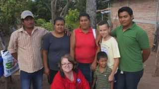 N.S.A.P. 2014 Salamanca Mozonte, Nicaragua, R.F. Hall High School Feb. 2014