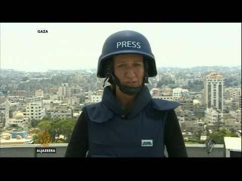 Stefanie Dekker i Kim Vinnell o granatiranju Gaze