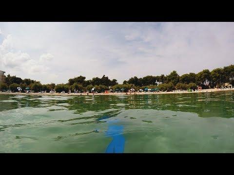 Supetar (underwater views - beach in the bay) | GoPro