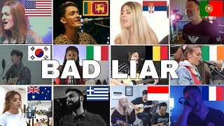 Who Sang It Better : Bad Liar - Imagine Dragons (12 different countries )