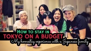 How to stay in Tokyo on a budget - Homestay in Japan