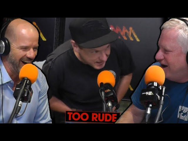 Mickey D Performs Puppetry Of The Penis Live On Roo & Ditts! | Triple M