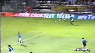 Serie A 1996-1997, day 01 Parma - Napoli 3-0 (D.Baggio, Chiesa, Zola)